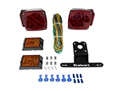Stalwart 12 Volt LED Trailer Light Kit