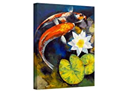 Michael Creese - Koi Fish/Water Lily