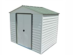 Steel Storage Shed 8' x 6'