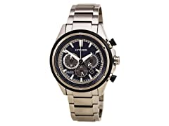 Eco-Drive Titanium Ti+IP Chronograph Men
