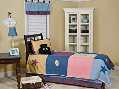 Let's Play Ball 4-Piece Bedding Set (Full/Queen)