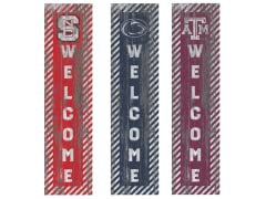 "Fan Creations NCAA 48"" Welcome Outdoor Sign N-Z"