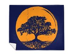 """""""The Great Tree of Life"""" Mink Fleece Blanket"""