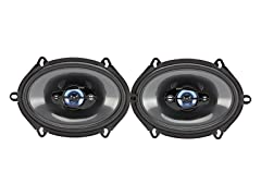 "Sony 5"" x 7"" 190W 4-Way Speakers (Pair)"