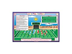 Football Educational Placemat for Kids