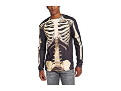 3D Skeleton Long Sleeve T-Shirt