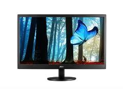 "AOC E2470SWD 23.6"" LED-backlit Full HD Display"