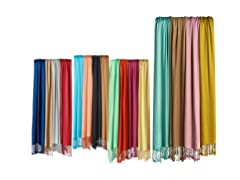 Satin Finish Scarves, 4-pack - Your Choice