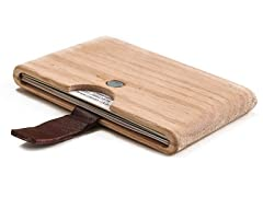 Swood Oakwood Card Case