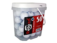 50pk of Assorted Reload Recycled Golf Balls