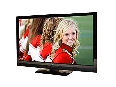 """JVC 47"""" 1080p 120Hz LCD HDTV"""
