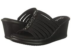 Skechers Womens Rumblers Wedge Sandal
