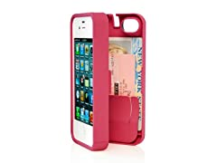 iPhone 4/4S Case w/Hinged Back - Pink