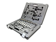 68-Piece Socket and Hextube Kit
