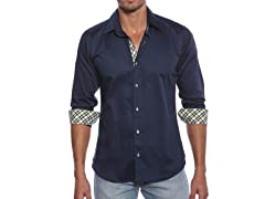 Jared Lang Dress Shirt, Navy