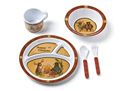 5-Piece Melamine Set - Happy Campers