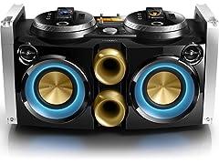 Philips FWP3200D Mini Hi-Fi System w/ DJ Mixer