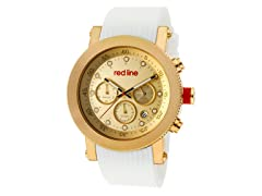 Red Line 18101VD-YG-010-WH Compressor Chronograph
