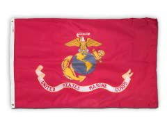 Marine 3' x 5' Nylon Flag