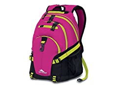 Loop Backpack- Fuchsia Black