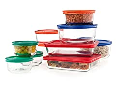 Pyrex Storage Plus 20-Piece Set