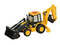 Light & Sound Shaking Back Hoe