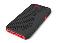 Yin-Yang Case for iPhone 5 - Black/Red