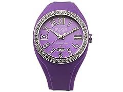 Men's BOX 40Z VIOLET Purple Dial Watch