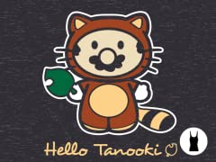 I Did It All For The Tanooki Tri-Blend Tank