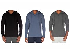 Unsimply Stitched Hooded Henley 3-Pack