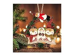 Snowman Doll Tree Pendant Ornament