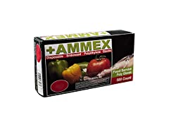 AMMEX Disposable Poly Gloves, Box of 500