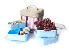 Lock & Lock Square Lunch Box Set