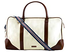 AVI-8 Men's Canvas Travel Bag, White