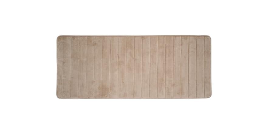 Memory Foam Striped Extra Long Bath Mat 24x60 8 Colors
