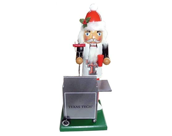 Santa s workshop 12 quot ncaa tailgating nutcracker texas tech