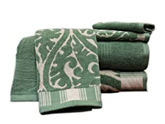 Egyptian Cotton 6-Pc Towel Set-Ivy