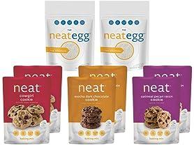 Neat Vegan Cookie & Baking Sampler (8)