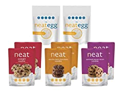 Neat Vegan Cookie & Baking Sampler (8)