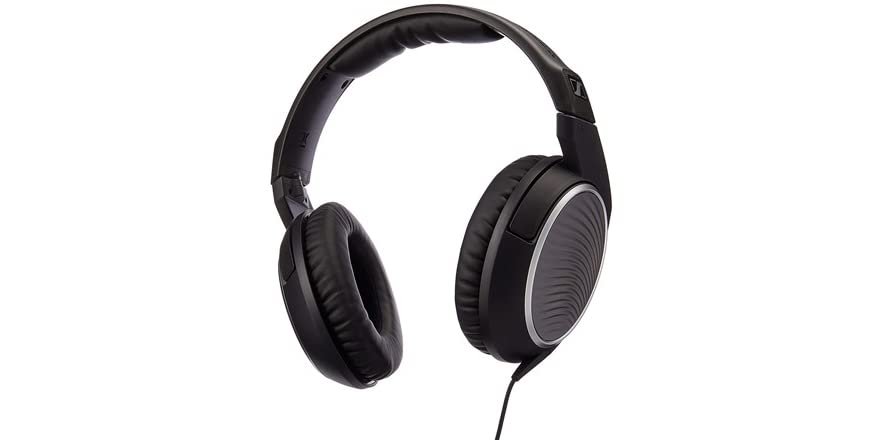 sennheiser hd471g headset with inline microphone. Black Bedroom Furniture Sets. Home Design Ideas