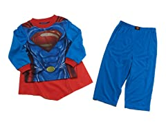 Superman 2pc Set w/ Cape (3T)