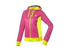 Fila Performance Hoody - Pink/Yellow
