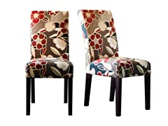 Trendsetter Red Set of 2 Chairs