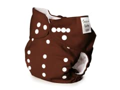 Trend Lab Adjustable Cloth Diaper -Brown