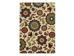 Floral Rug (5-Sizes)