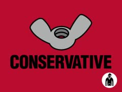 Wingnut Conservative Pullover Hoodie