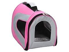 Pink Zippered Mesh Carrier
