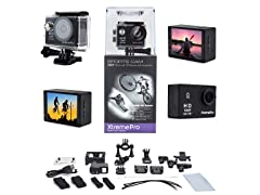 XtremePro Full HD Waterproof Sports Camera Bundle