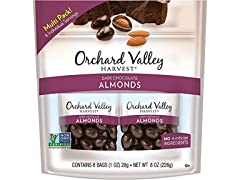 Dark Chocolate Almonds, 8pk