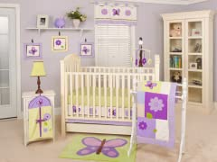 Lavender Butterfly 11-Piece Set